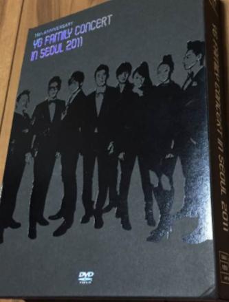YG FAMILY CONCERT IN SEOUL 2011 DVD