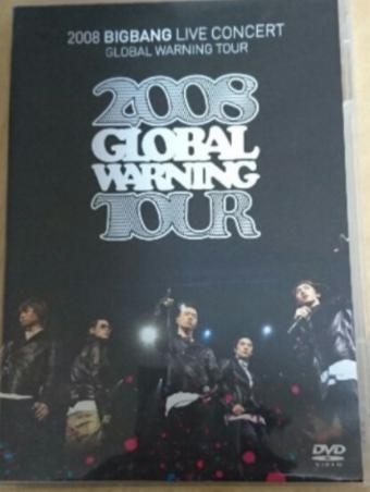 BIGBANG GLOBAL WARNING TOUR 2008