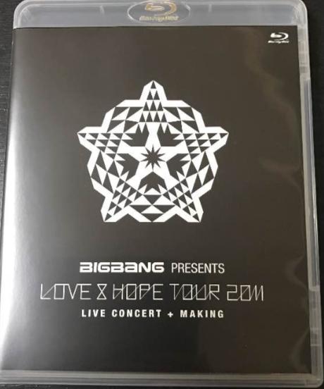 BIGBANG LOVE&HOPE TOUR 2011 blu-ray