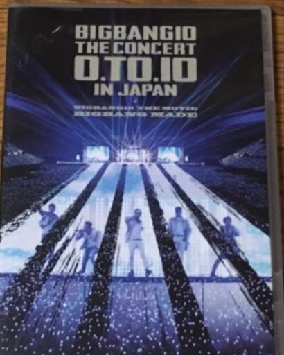 BIGBANG10 0.TO.10 IN JAPAN DVD