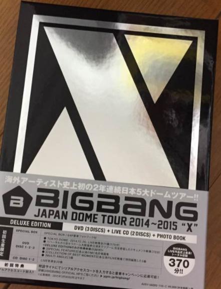 BIGBANG JAPAN DOME TOUR 2014~15 X