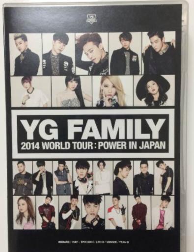 YG FAMILY Power In Japan 2014