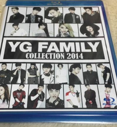 YG FAMILY COLLECTION 2014 blu-ray