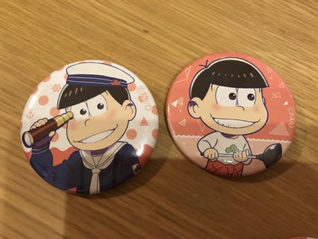 おそ松さん    おそ松  京まふ   缶バッジ グッズの画像
