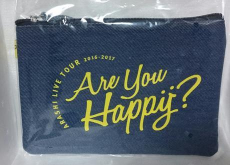嵐 Are You Happy?  ポーチ