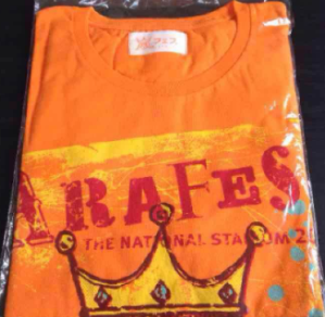 嵐 アラフェス12 Tシャツ