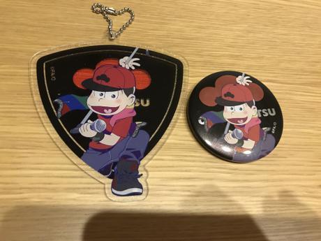 おそ松さん   おそ松  バンド松   缶バッジ&アクキー グッズの画像