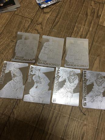スラムダンク カード グッズの画像