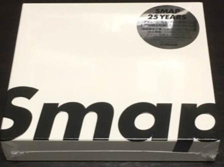 SMAP アルバム 25years 初回限定盤