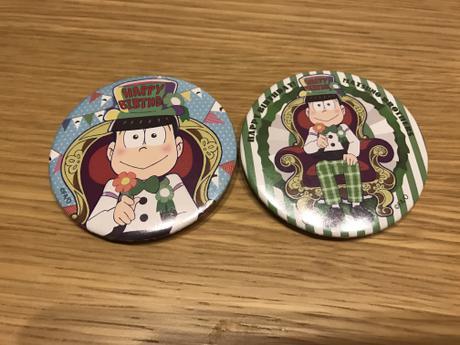 おそ松さん   バースデー缶バッジ   チョロ松 グッズの画像
