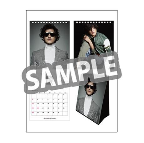赤西仁 JIN AKANISHI 2017年 卓上カレンダー 新品・未使用! ライブグッズの画像