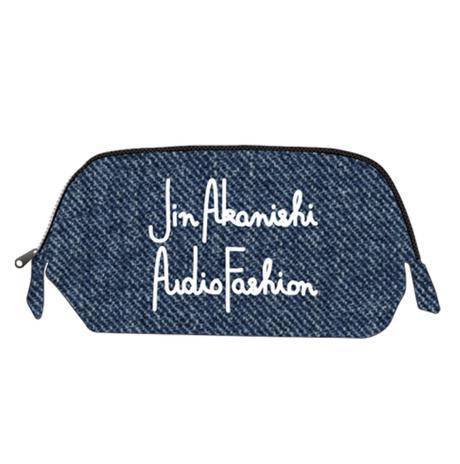 赤西仁 Jin Akanishi Audio Fashion ポーチ デニム素材 ライブグッズの画像