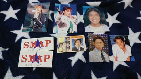 SMAPカード コンサートグッズの画像