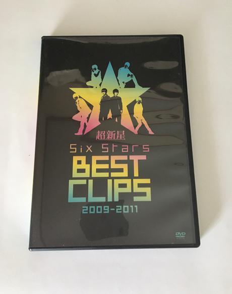 超新星 Six Stars BEST CLIPS(2009〜2011) ライブグッズの画像
