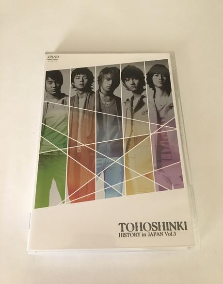 TOHOSHINKI HISTORY in JAPAN vol.3