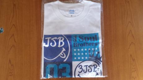 三代目jjsoulbrothersツアーTシャツBPホワイトMサイズ