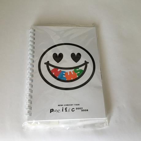 Pacificツアーのノート コンサートグッズの画像