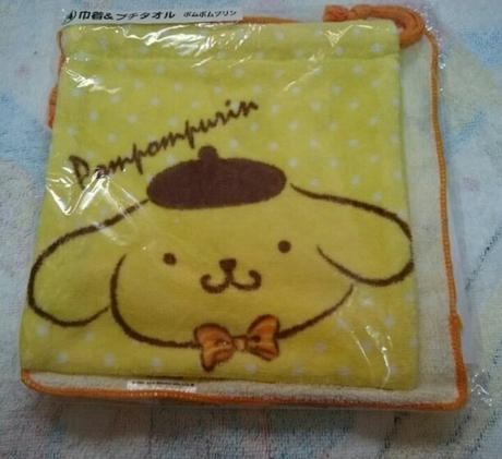 ポムポムプリン巾着 グッズの画像