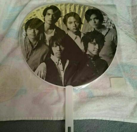 NEWSうちわ コンサートグッズの画像