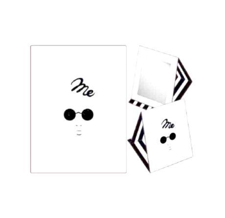 レア!【新品】me ミラー JIN AKANISHI 赤西仁 ライブグッズの画像