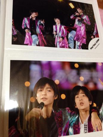 Hey! Say! JUMP公式写真セット① コンサートグッズの画像