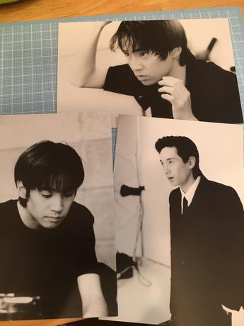 中居くんポストカード コンサートグッズの画像