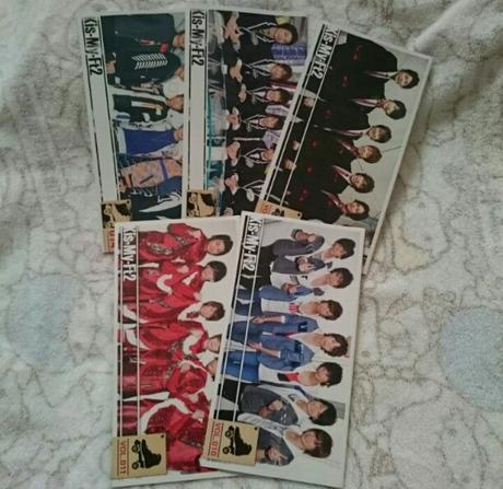 Kis-My-Ft2会報 コンサートグッズの画像