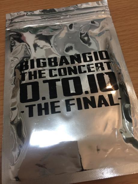 BIGBANG【0.TO.10】ライビュ来場者限定特製キーホルダー【未開封】 ライブグッズの画像