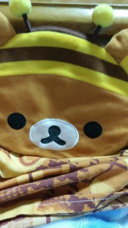 リラックマポーチ グッズの画像