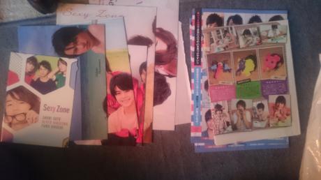 sexyzoneとjr.のポスターとカードセット コンサートグッズの画像