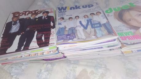 過去の雑誌です。 コンサートグッズの画像