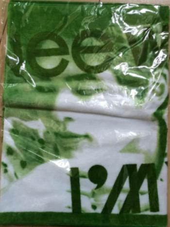 SHINeeWORLD2014〜I'm Your Boy〜スポーツタオル(緑) ライブグッズの画像