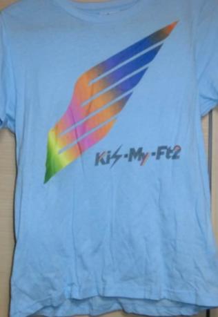 キスマイ Kis-My-JourneyTシャツ(アクアブルー) コンサートグッズの画像