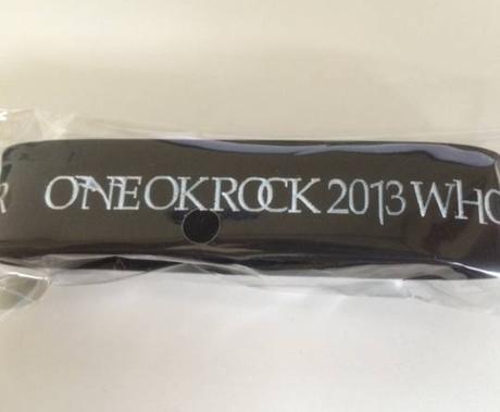 ONE OK ROCK ラババン 黒 ライブグッズの画像