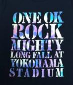 ONEOKROCK 横浜スタジアム Tシャツ 黒 ライブグッズの画像