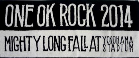 ONE OK ROCK Mighty Long Fall タオル ライブグッズの画像