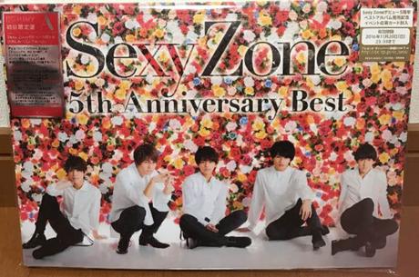 セクゾ 5th Anniversary Best♡初回限定盤A
