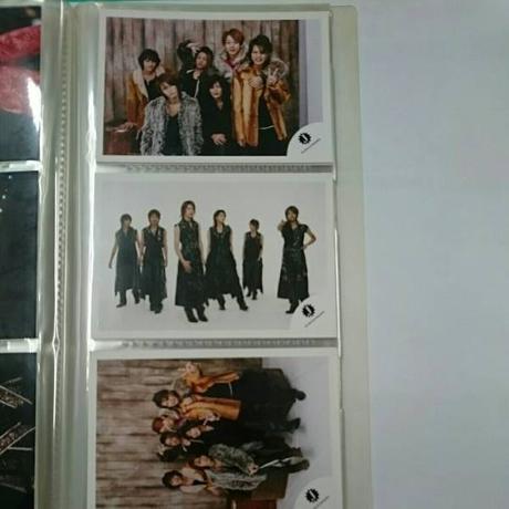 ●KAT-TUN●6人●デビュー前●ショップ写真3枚セット●2● コンサートグッズの画像