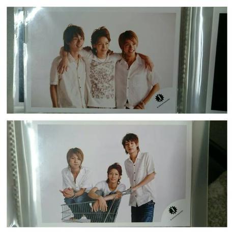 ●KAT-TUN●上田竜也、中丸雄一、亀梨和也●ショップ写真4枚セット● コンサートグッズの画像