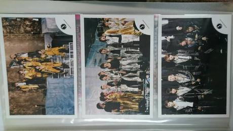 ●KAT-TUN●6人●ショップ写真3枚セット● コンサートグッズの画像