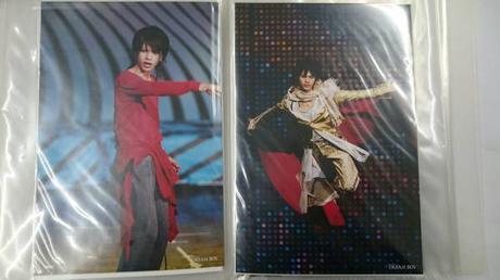 ●KAT-TUN●上田竜也●ドリボ●B6サイズ写真2枚セット●12● コンサートグッズの画像