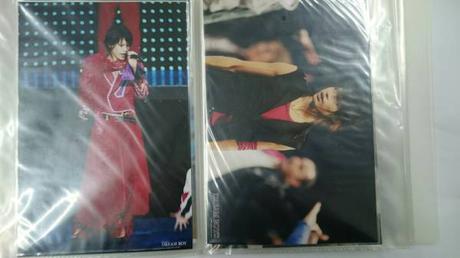 ●KAT-TUN●上田竜也●ドリボ●B6サイズ写真2枚セット●11● コンサートグッズの画像