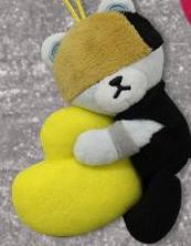 BANG BANG BANG 抱きつきハートマスコット D-LITE ライブグッズの画像