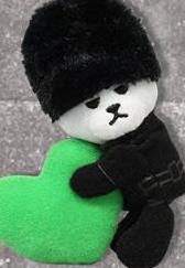BANG BANG BANG 抱きつきハートマスコット T.O.P ライブグッズの画像