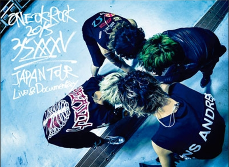 """ワンオク  """"35xxxv"""" JAPAN TOUR DVD ライブグッズの画像"""