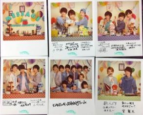 春休みスペシャルshow2016 メッセージカードセット コンサートグッズの画像