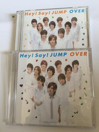 1100円に値下げ中❗️❗️Hay!Say!JUMP  OVER初回限定盤1・2 コンサートグッズの画像