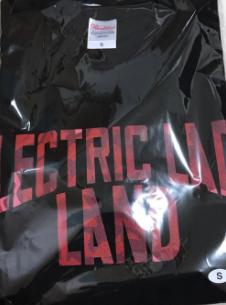 マンウィズ  ELECTRIC LADYLAND Tシャツ 黒 ライブグッズの画像