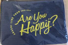 嵐 are you happy?  ポーチ コンサートグッズの画像