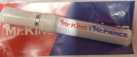 ガムシャラ Mr.KiNG vs Mr.PRiNCE ペンライト コンサートグッズの画像